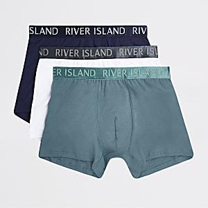 RI – Blaue Slips im 3er-Pack