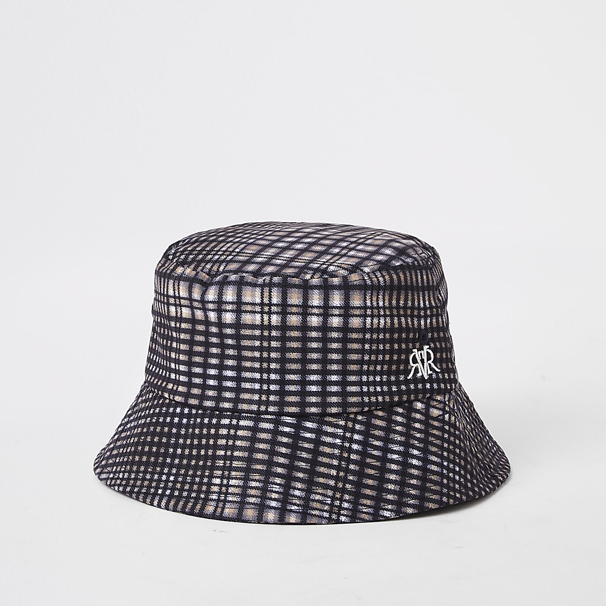 88b296f4 Grey check bucket hat - Hats / Caps - Accessories - men