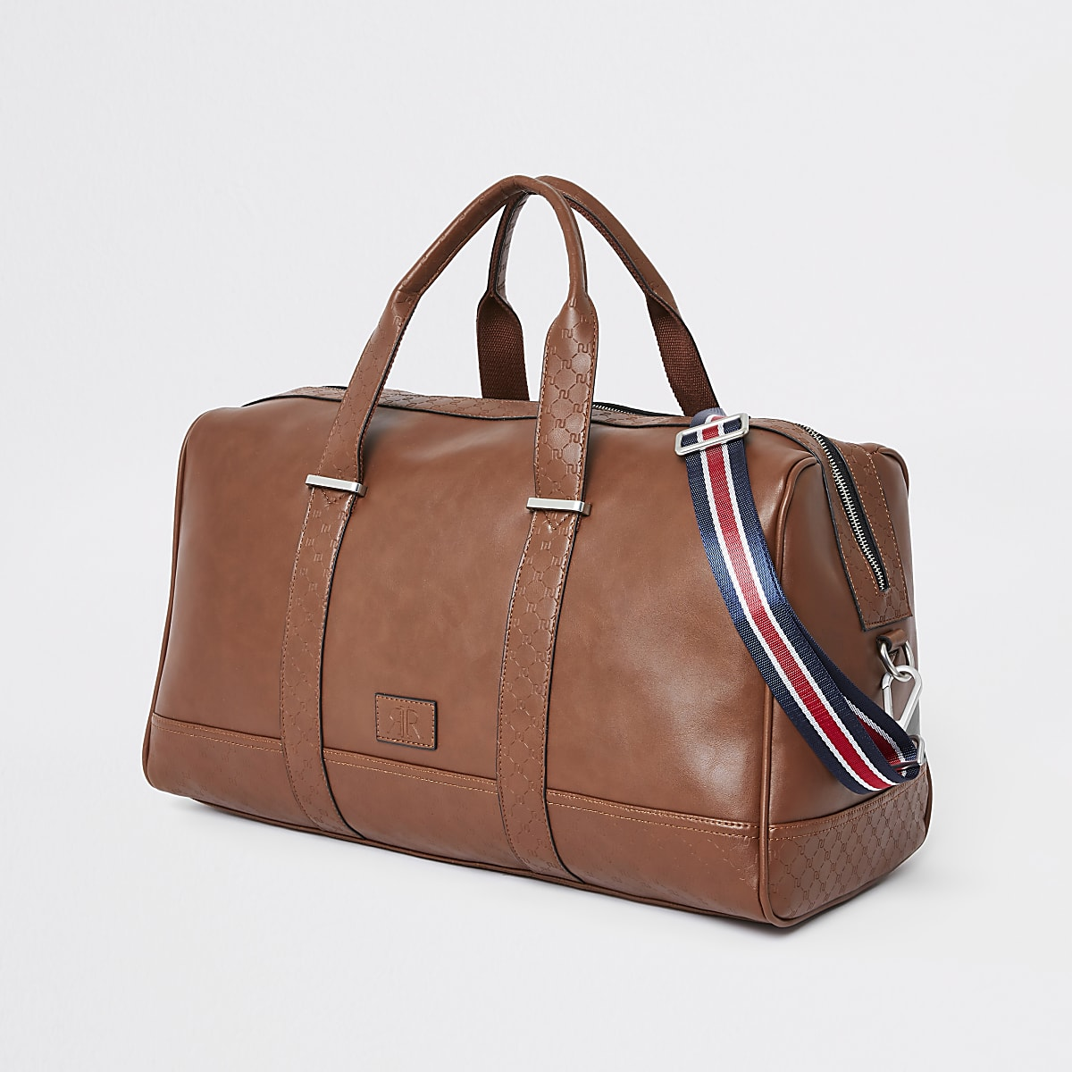 e505119f Light brown RI monogram trim holdall - Holdalls - Bags - men