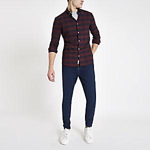 Monkee Genes – Jean super skinny bleu foncé