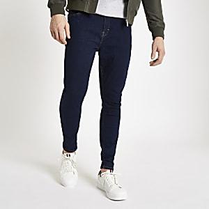 Monkee Genes- Blauwe superskinny jeans