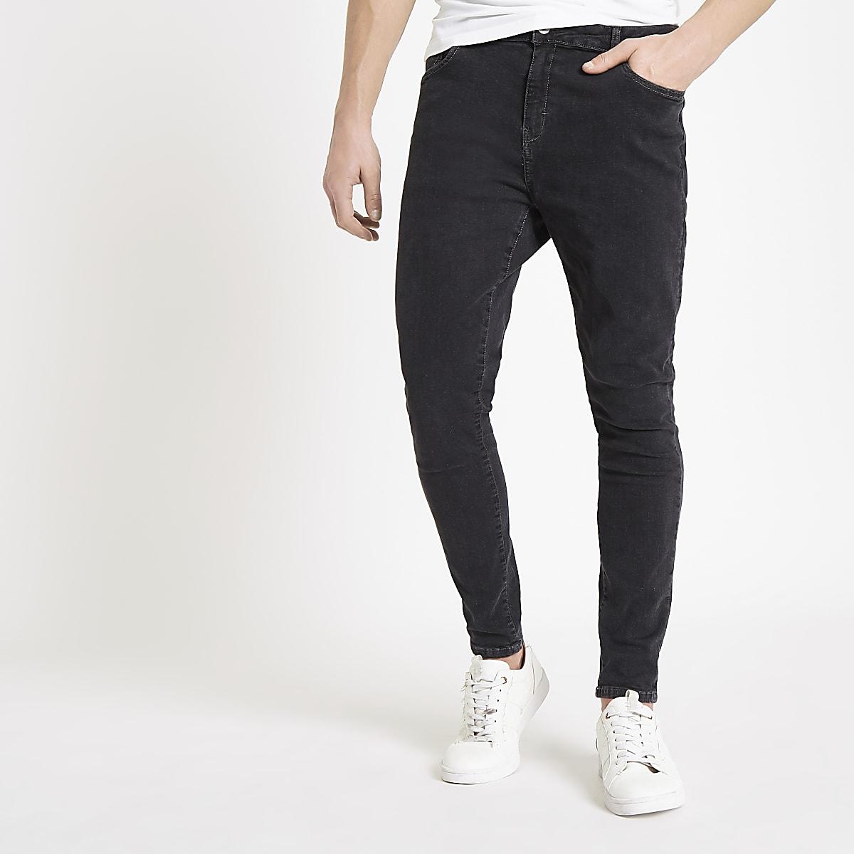 Monkee Genes – Schwarze Super Skinny Jeans