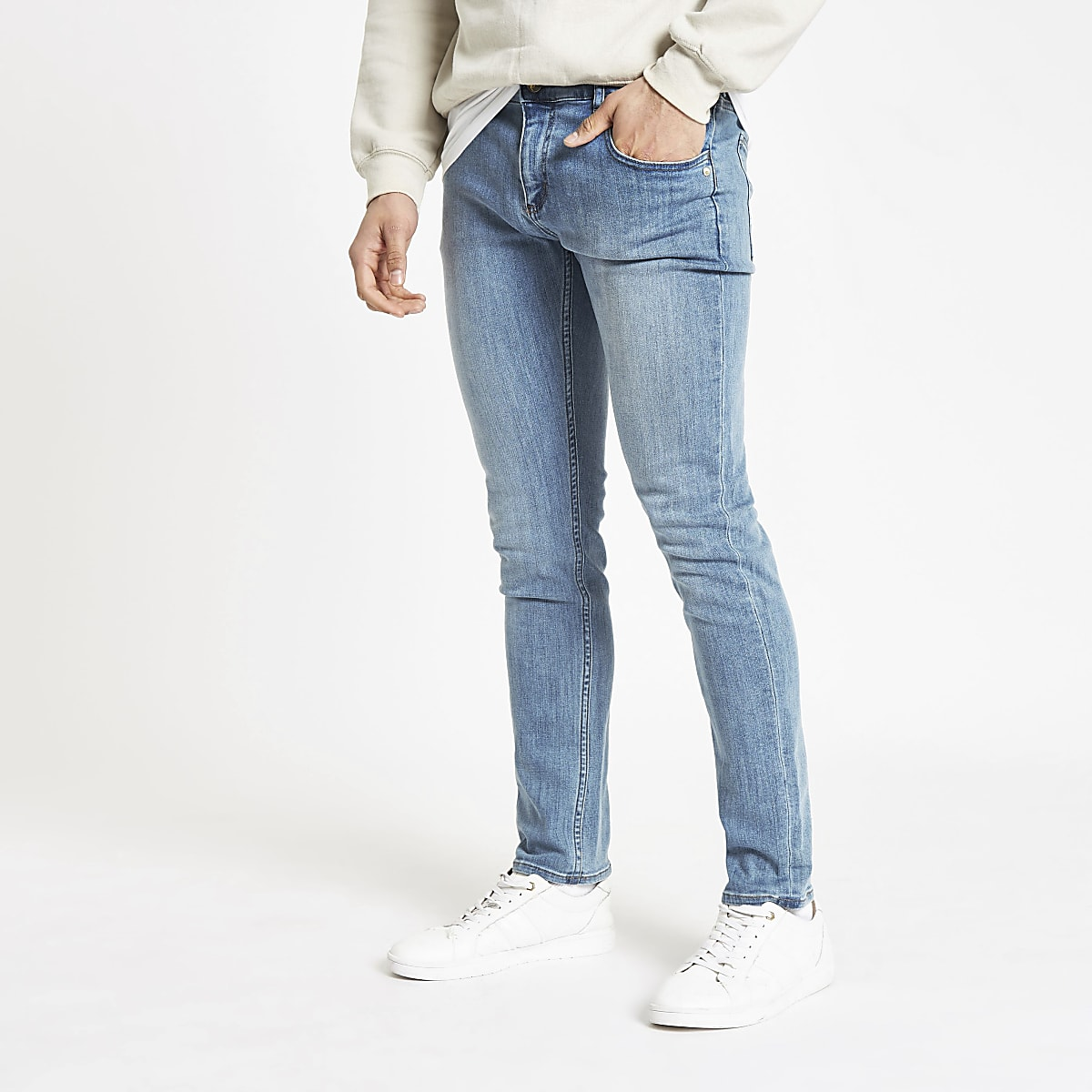 Monkee Genes light blue skinny jeans