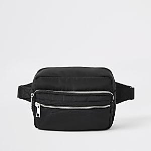 Black RI cross body bag