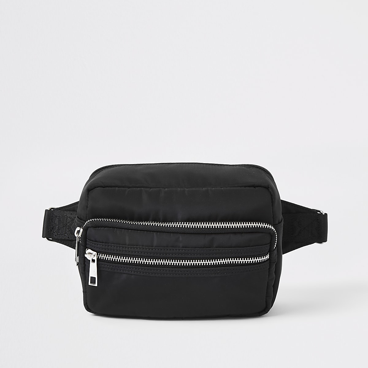 Black RI cross body bag