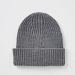89c2d1d4654 Neon yellow fisherman knit beanie hat - Hats   Caps - Accessories - men
