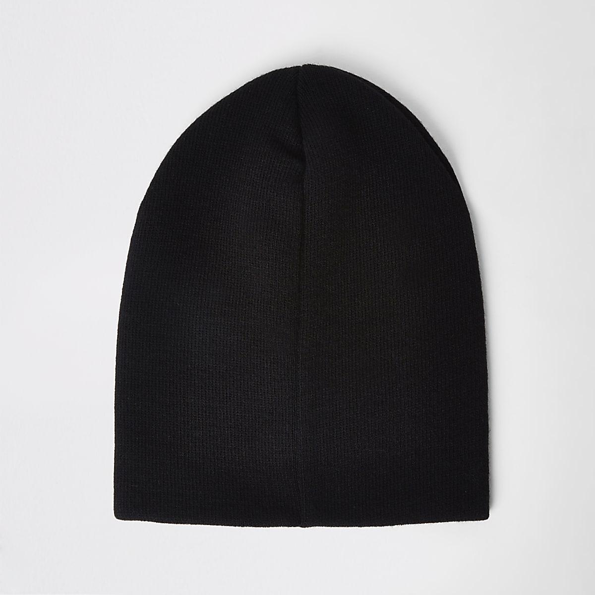 Bonnet noir souple