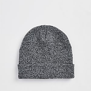 18542c13c2d Grey slouch beanie hat