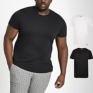 Lee – Big & Tall – T-Shirts, 2er-Pack