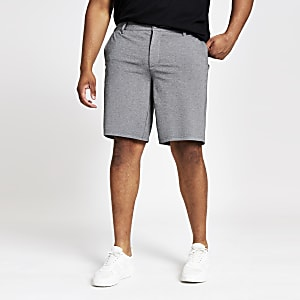 Only & Sons Big and Tall grey shorts