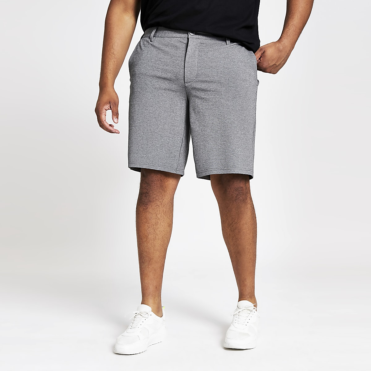Only & Sons - Big and Tall - Grijze short