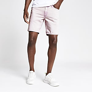 Dylan – Pinke Slim Fit Shorts