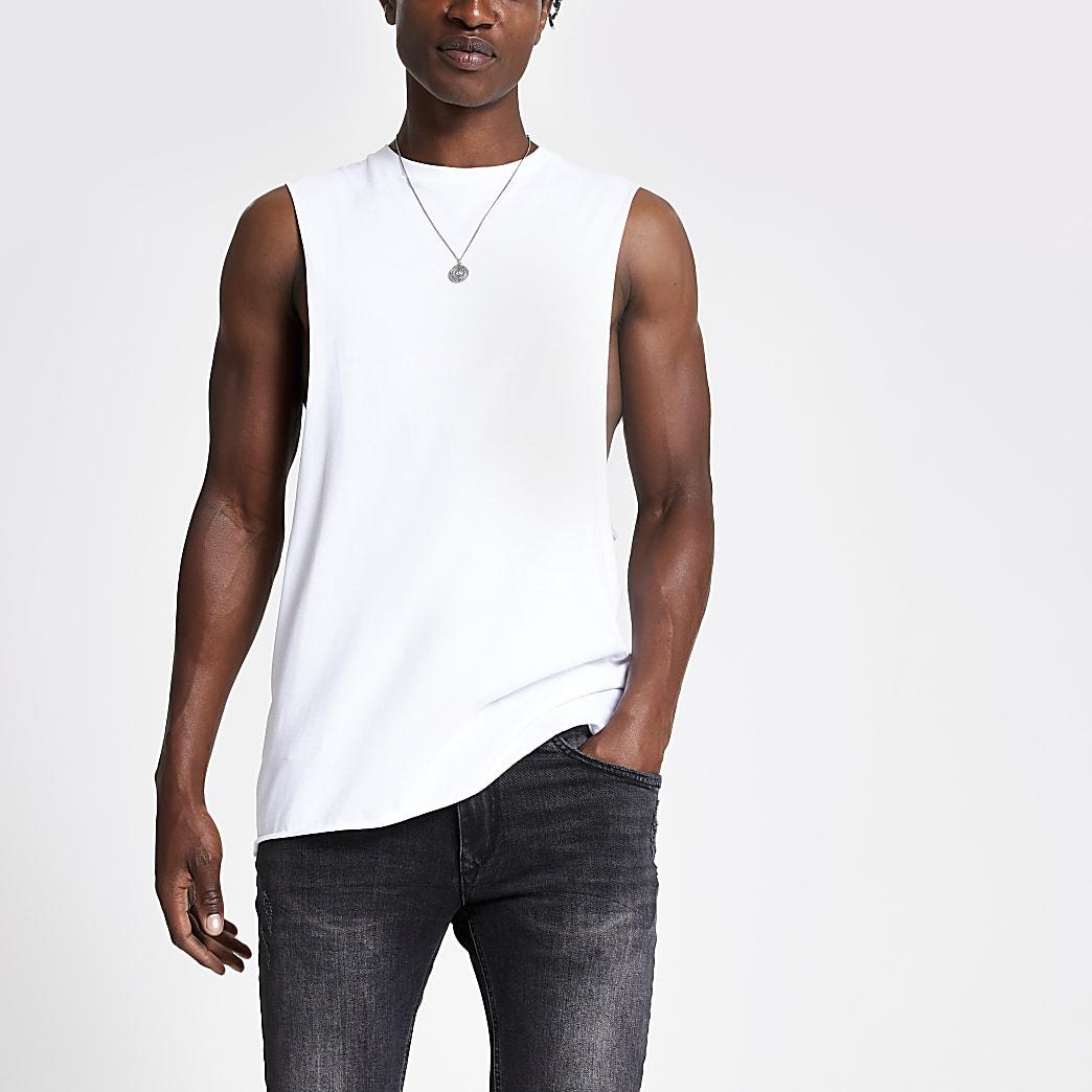 White tank vest