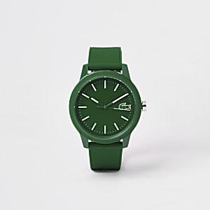 Lacoste - Groen 12.12 horloge met siliconen bandje