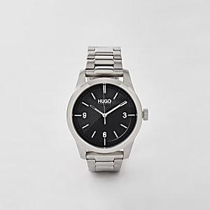 Hugo Create - Grijs roestvrijstalen horloge