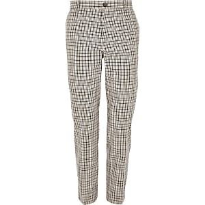 Big and Tall heritage check pants