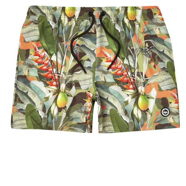 River Island - hype – short de bain imprimé tropical - 5