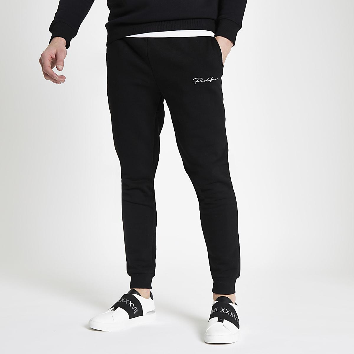 Black 'Prolific' slim fit joggers
