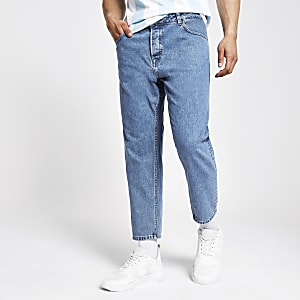 Only & Sons - Blauwe smaltoelopende jeans
