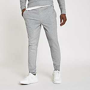 Grey slim fit joggers