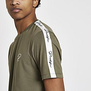 T-shirt «Prolific» kaki à manches courtes
