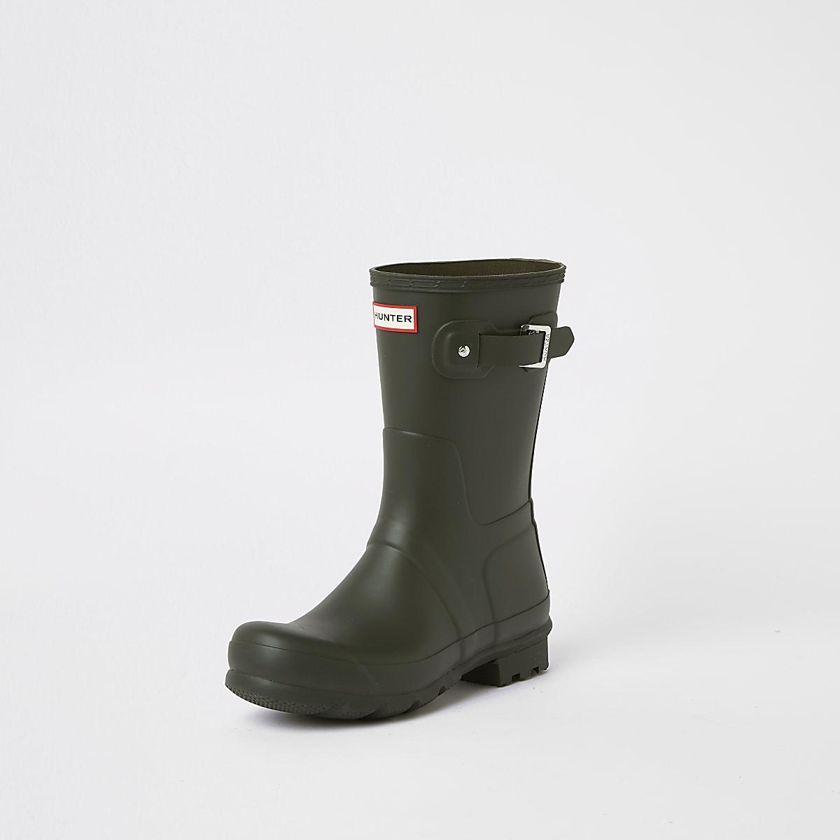 quality design 964e7 2c655 Hunter Original green short wellington boots