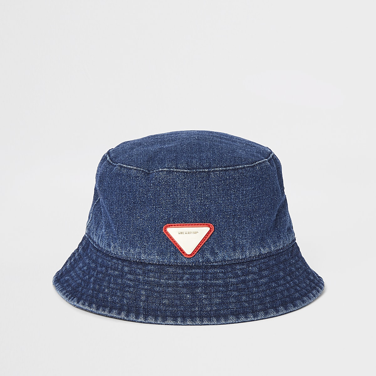 54737f3065 Blue denim bucket hat - Hats   Caps - Accessories - men