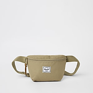 Herschel - Fourteen - Grijze crossbodytas