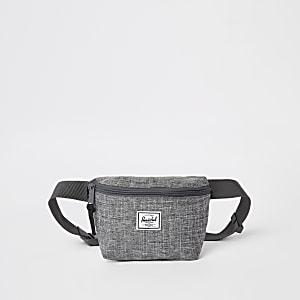 Herschel – Fourteen – Sac à bandoulière gris chiné