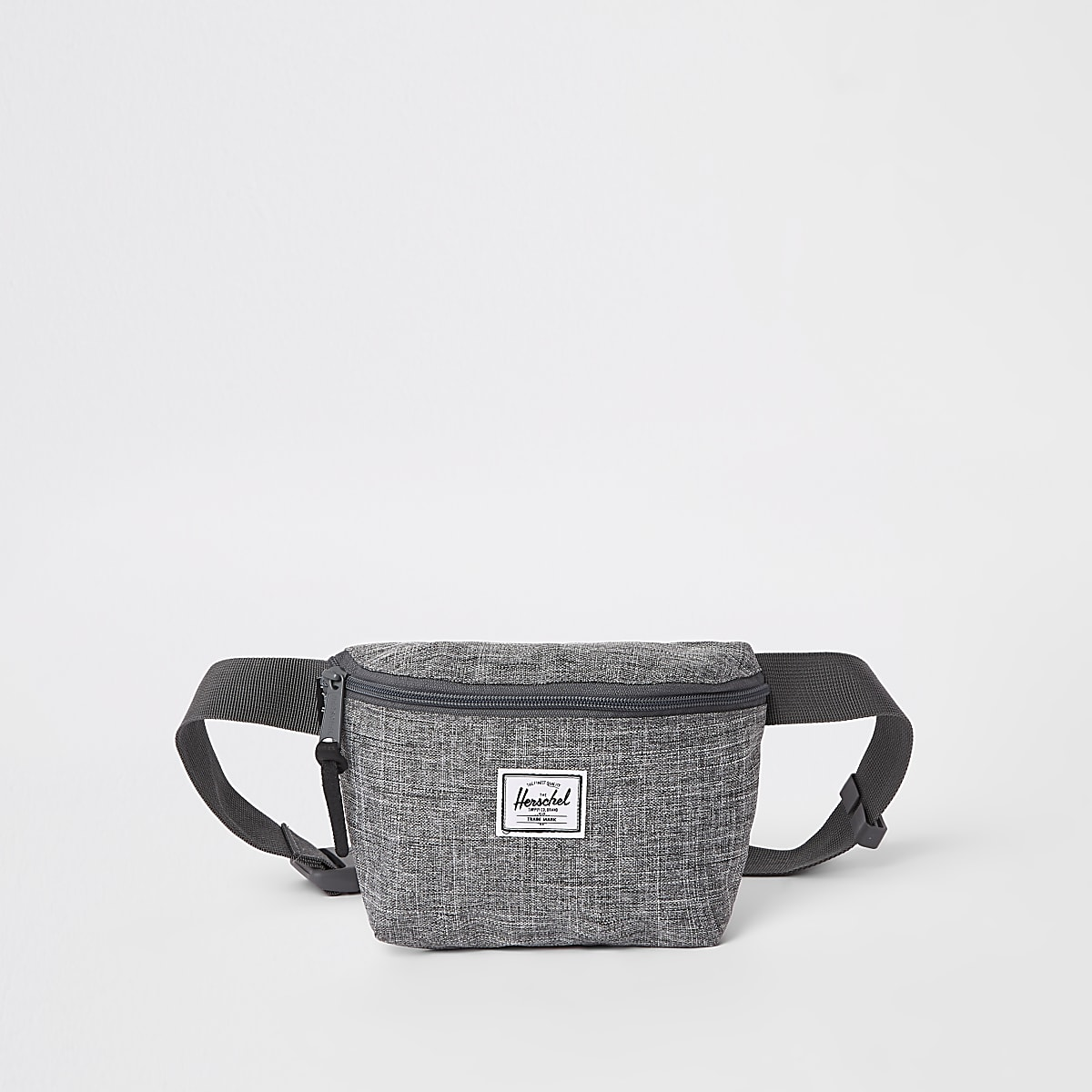 Herschel grey marl Fourteen cross body bag