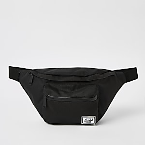 Herschel black Seventeen cross body bag