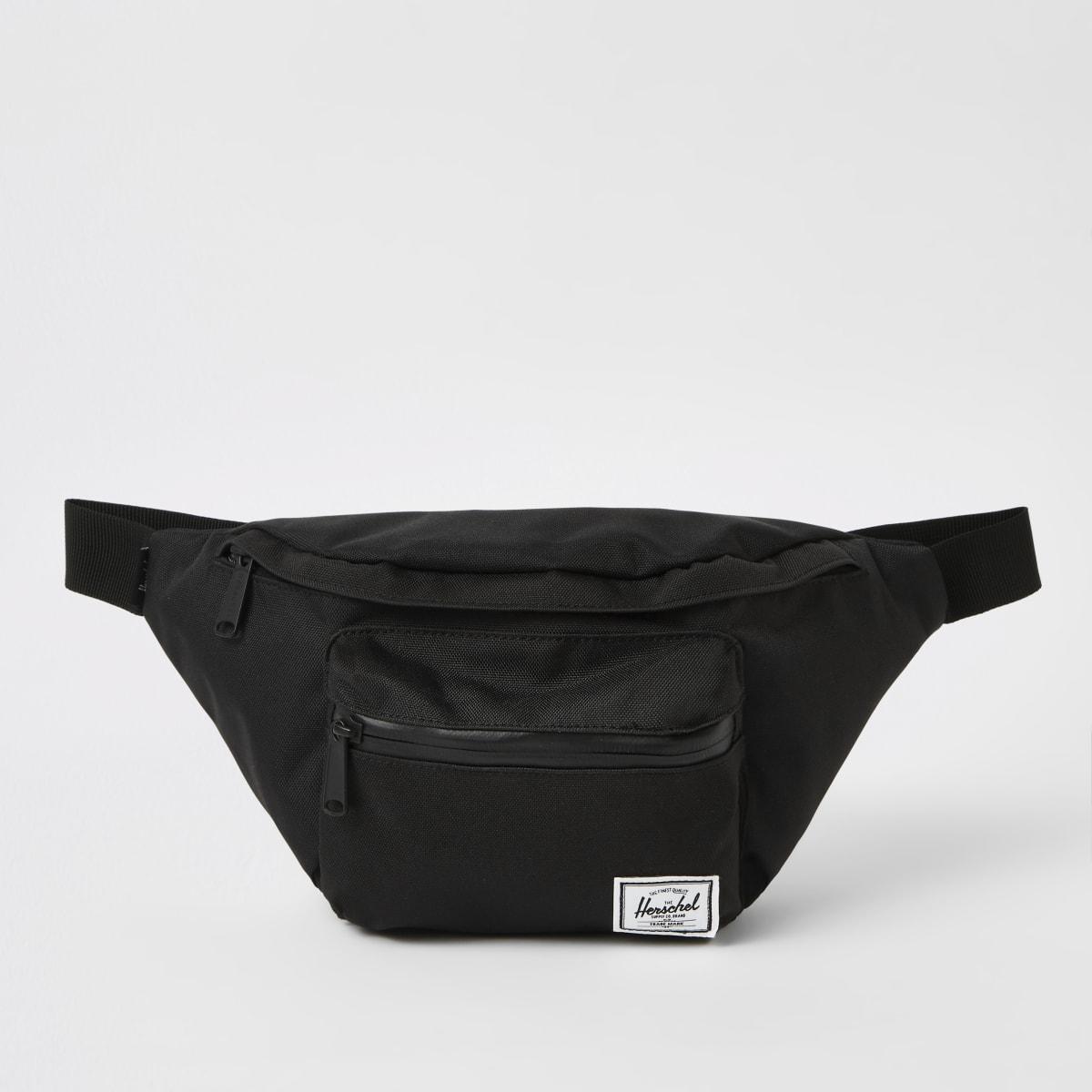 Herschel black Seventeen cross body bag