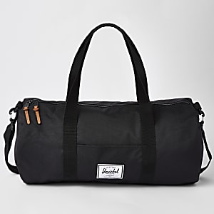 Herschel black Sutton Mid-Volume holdall bag