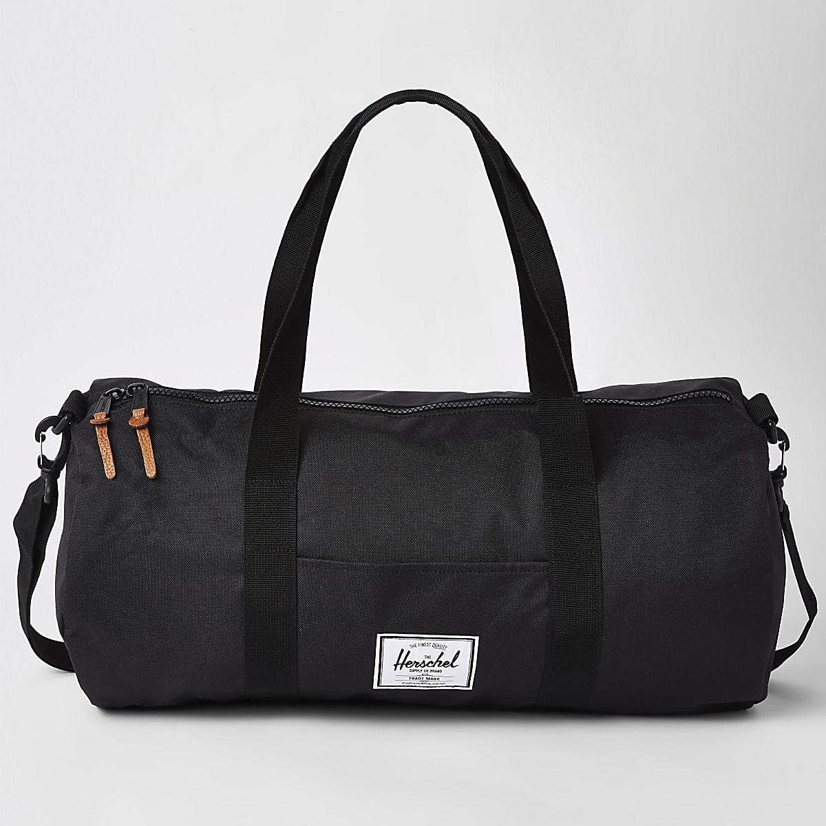 Herschel black Sutton Mid-Volume holdall bag