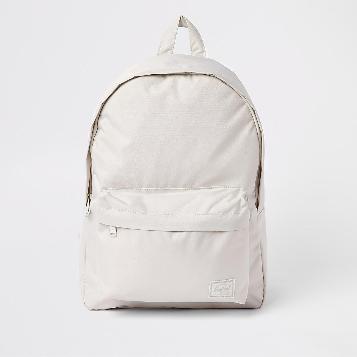 Herschel light grey Classic rucksack