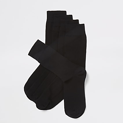 Black socks 5 pack