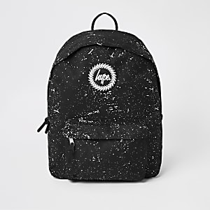 Hype black speckle backpack