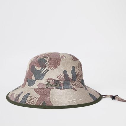 Herschel green Creek camo bucket hat