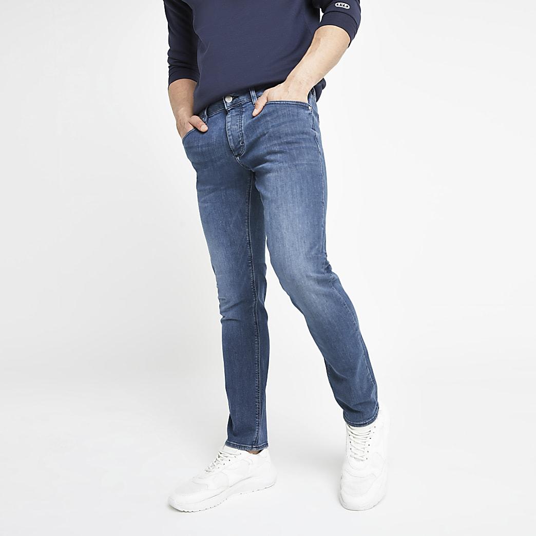 Dylan – Jean slim bleu foncé