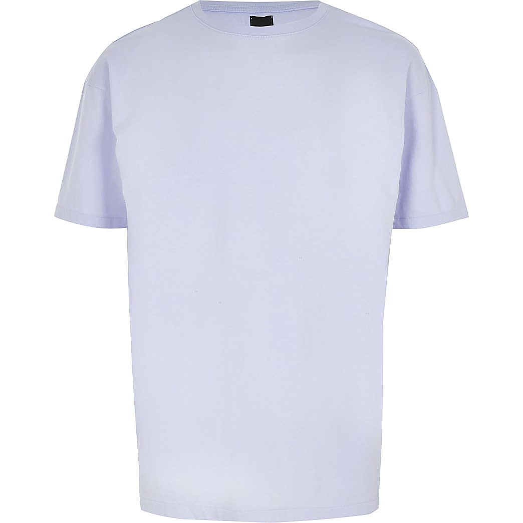 Paars oversized T-shirt