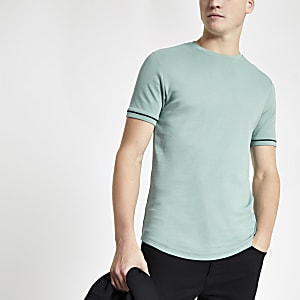 Mint green short sleeve T-shirt