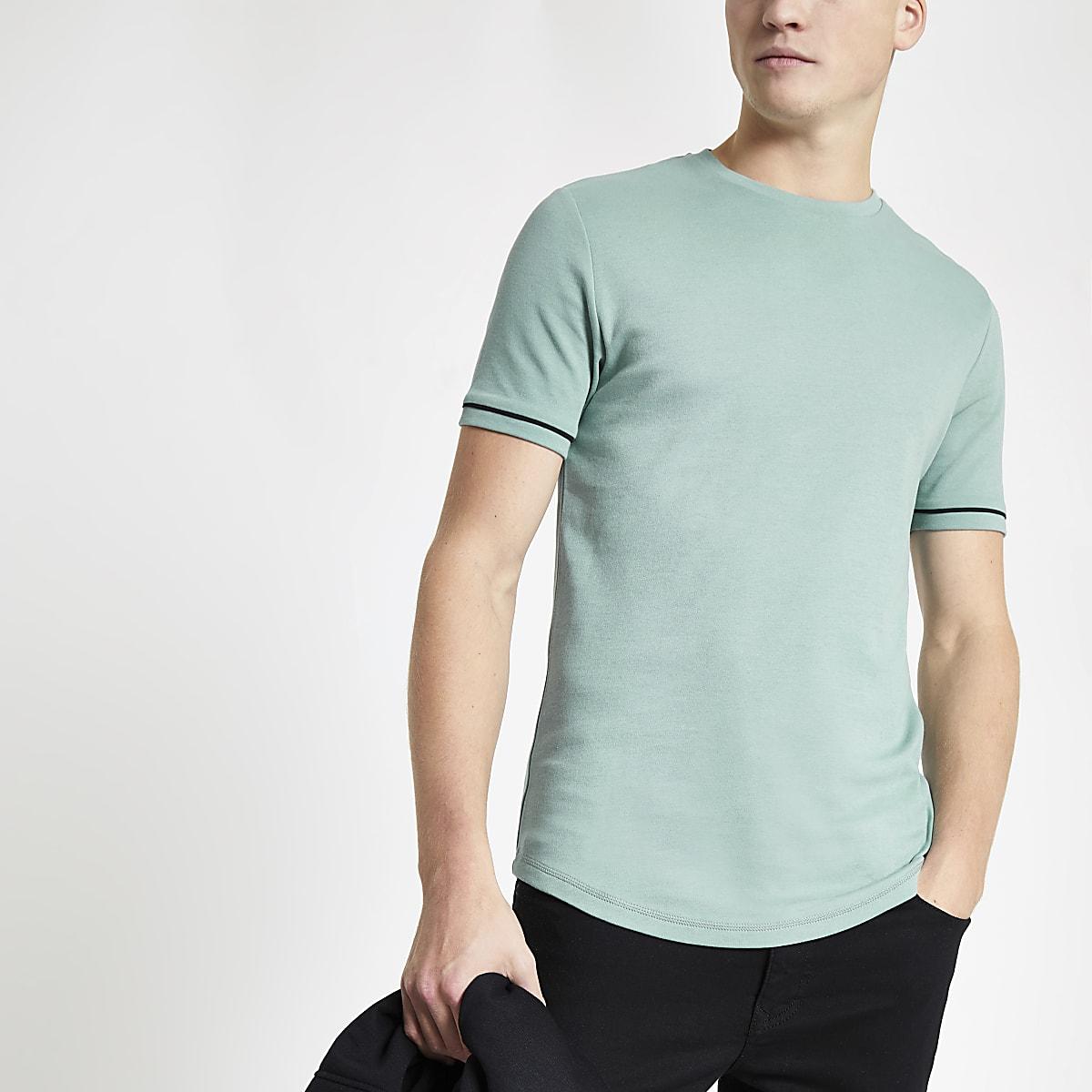 Mint green short sleeve T-shirt