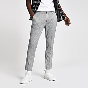 Grey super skinny smart pants