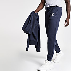 Franklin and Marshall – Pantalon de jogging bleu marine