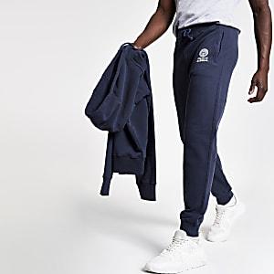 Franklin & Marshall - Marineblauwe joggingbroek