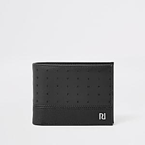 Zwarte portemonnee met RI-plaatje
