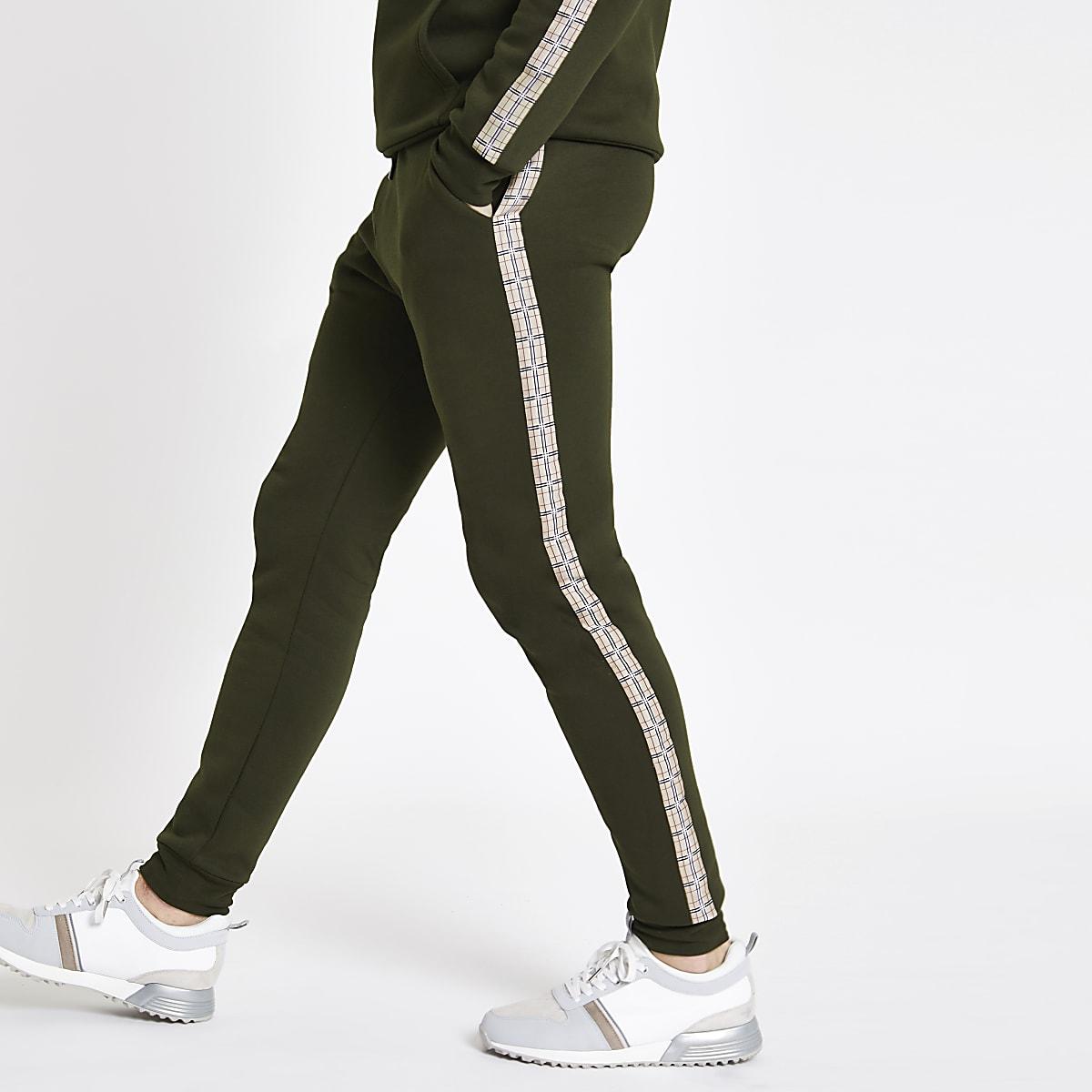 Slim Fit Jogginghose in Khaki