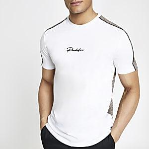 """Weißes Slim Fit T-Shirt """"Prolific"""""""