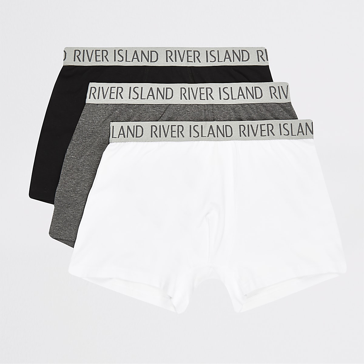 Lot de3 boxers longs RI gris
