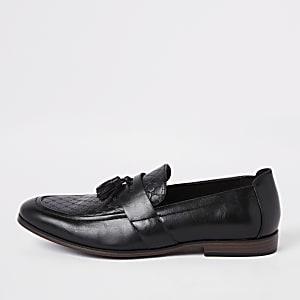 Loafer mit RI-Monogramm, Quaste und weiter Passform